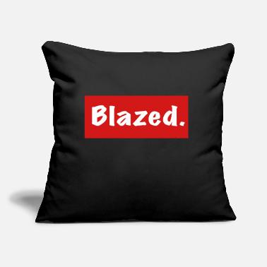 "Blaze Blazed - Throw Pillow Cover 18"" x 18"""