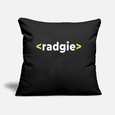 "Slang Newcastle Geordie Slang Design - Throw Pillow Cover 18"" x 18"""