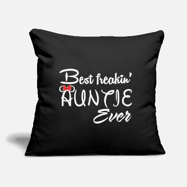 "Aunt best aunt ever - Throw Pillow Cover 18"" x 18"""