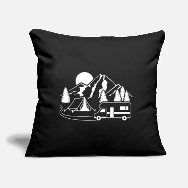 "Forest RV - Throw Pillow Cover 18"" x 18"""