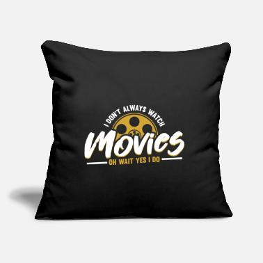 "Movie Movie - Throw Pillow Cover 18"" x 18"""