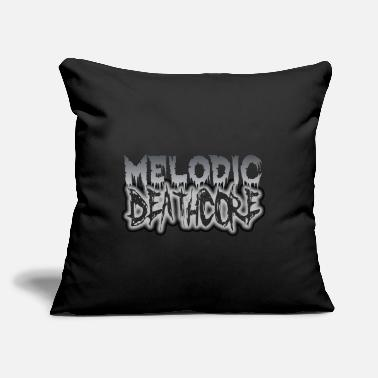 "Deathcore MELODIC DEATHCORE - Throw Pillow Cover 18"" x 18"""