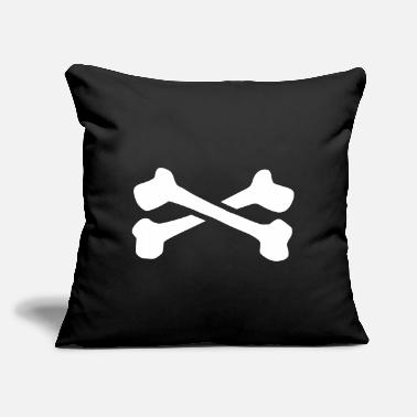 "Bones Bones - Throw Pillow Cover 18"" x 18"""