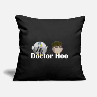 "Hoos Doctor Hoo - Throw Pillow Cover 18"" x 18"""