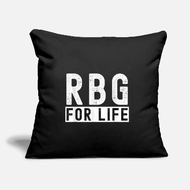"RBG For Life Vote 2020 Election Human Rights Equal - Throw Pillow Cover 18"" x 18"""