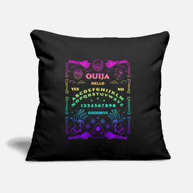"Ouija Board Pastel Goth Witchcraft Witch Wicca Tar - Throw Pillow Cover 18"" x 18"""