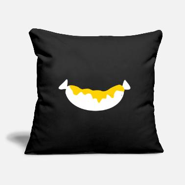 "Sausage Sausage - Throw Pillow Cover 18"" x 18"""