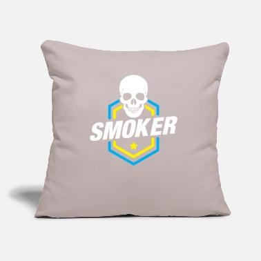 "Smoker Smoker - Throw Pillow Cover 18"" x 18"""