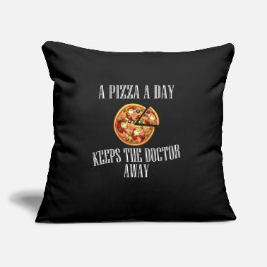 Snack Food Design - Pizza Day - Throw Pillow Cover