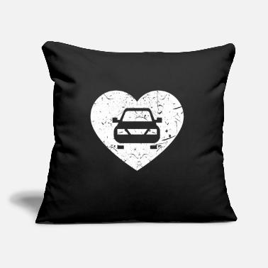 "Carlovers Car Love - Throw Pillow Cover 18"" x 18"""