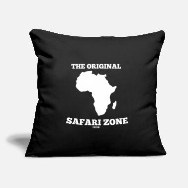 "Tourist African safari vacation wilderness Gift - Throw Pillow Cover 18"" x 18"""