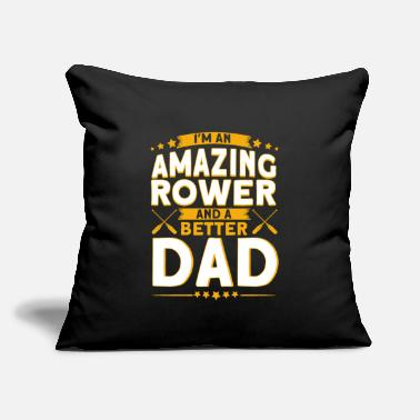 "Rower Rower Rowing Rowing Crew Gift - Throw Pillow Cover 18"" x 18"""