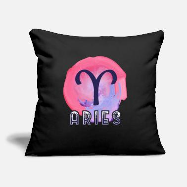 "Aries Aries Zodiac - Throw Pillow Cover 18"" x 18"""