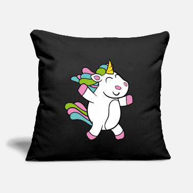 "Hobgoblin Funny Cute Cool Unicorn Fairy Tale Fairy Story - Throw Pillow Cover 18"" x 18"""