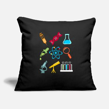 Model Physik DNA Element Atom E=mc² Science Gift - Throw Pillow Cover