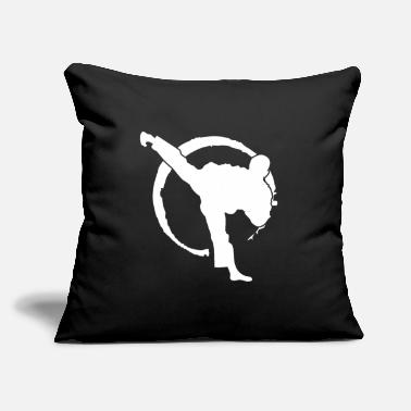 "Kampfsport Judo Kampfsport Kämpfer Sportart Geschenk - Throw Pillow Cover 18"" x 18"""