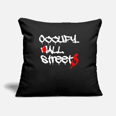 "Occupy Wall Street occupy wall street - Throw Pillow Cover 18"" x 18"""