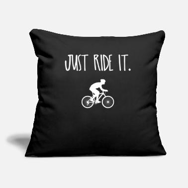 "Cycling Cycle - Throw Pillow Cover 18"" x 18"""