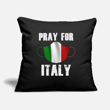 "Pray PRAY FOR ITALY TO FIGHT CORONA VIRUS - Throw Pillow Cover 18"" x 18"""