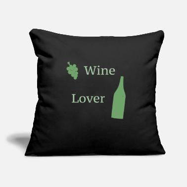Wine Wine - Throw Pillow Cover