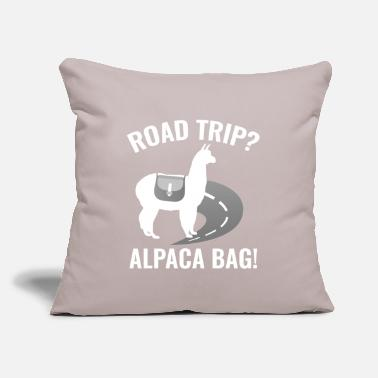 "Trip Road Trip? - Throw Pillow Cover 18"" x 18"""