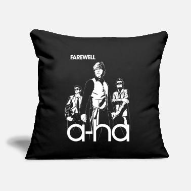 "Farewell A ha Farewell - Throw Pillow Cover 18"" x 18"""