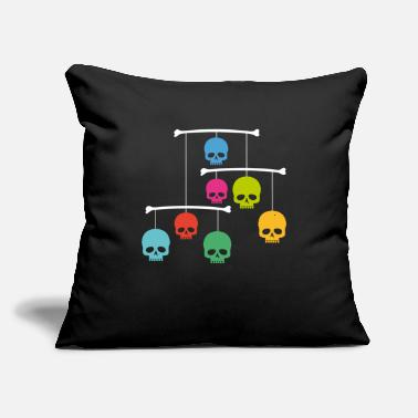 Mobile Mobile with Skulls - Throw Pillow Cover