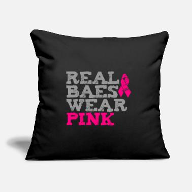 Wear Real Baes Wear Pink - Throw Pillow Cover