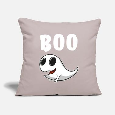 "Ghost Ghost ghost boo - Throw Pillow Cover 18"" x 18"""