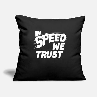 "SPEED JUNKY 2 - Throw Pillow Cover 18"" x 18"""
