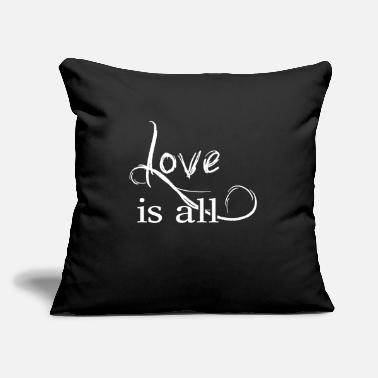 Affection Love is all - Help Affection - Throw Pillow Cover