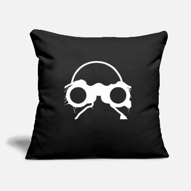 "Stylish Binoculars stylish - Throw Pillow Cover 18"" x 18"""