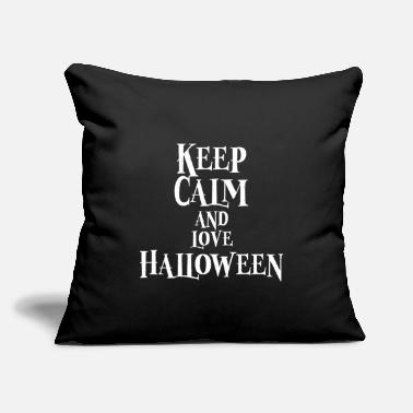 "Story Love Halloween Story Stories - Throw Pillow Cover 18"" x 18"""