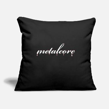 "Metalcore Metalcore - Throw Pillow Cover 18"" x 18"""