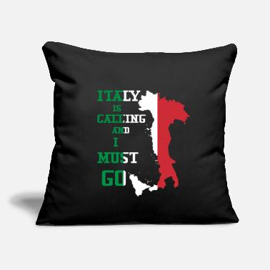 "Italy Italy - Throw Pillow Cover 18"" x 18"""