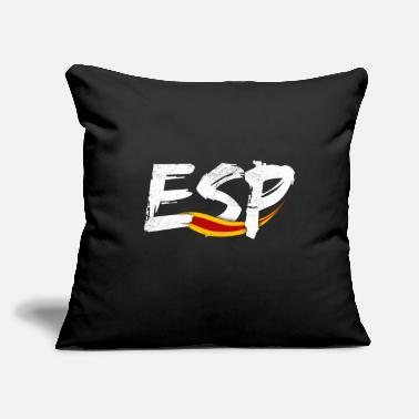 "Spain Spain Spain Spain Gift - Throw Pillow Cover 18"" x 18"""
