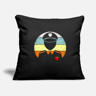 "Policeman Police Funny Funny Police Officer Quote Gift - Throw Pillow Cover 18"" x 18"""