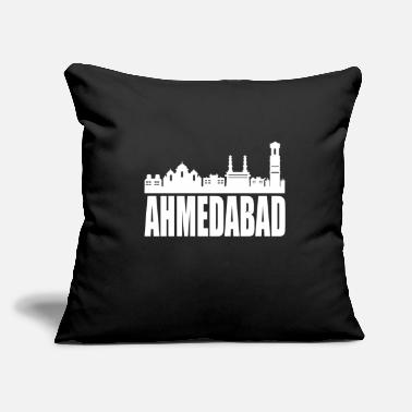 "Hyderabad Ahmedabad Hyderabad India - Throw Pillow Cover 18"" x 18"""