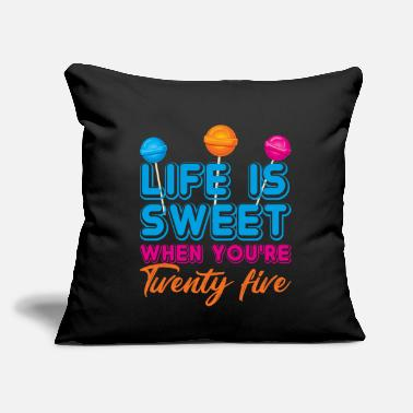 "Birthday Party 25. Birthday - Throw Pillow Cover 18"" x 18"""