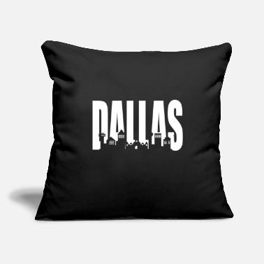 "Dallas Dallas - Throw Pillow Cover 18"" x 18"""