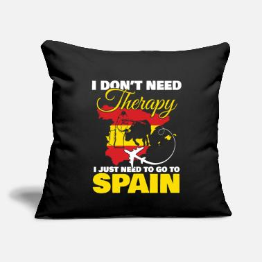 "Spain spain - Throw Pillow Cover 18"" x 18"""