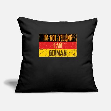 "Germany Germany - Throw Pillow Cover 18"" x 18"""