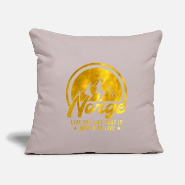 "Norway norway - Throw Pillow Cover 18"" x 18"""