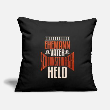 "Stacks Funny Chimney sweeper Quote Gift - Throw Pillow Cover 18"" x 18"""