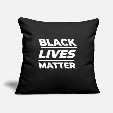 "Black Metal black lives matter - Throw Pillow Cover 18"" x 18"""