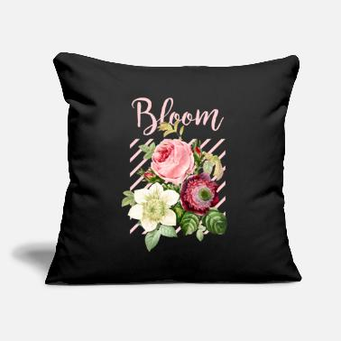 "Bloom Bloom - Throw Pillow Cover 18"" x 18"""