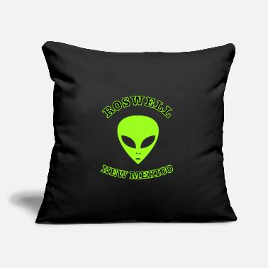 "Roswell New Mexico Roswell New Mexico - Throw Pillow Cover 18"" x 18"""