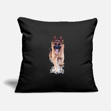 "German Shepherd German Shepherd - German Shepherd - Throw Pillow Cover 18"" x 18"""