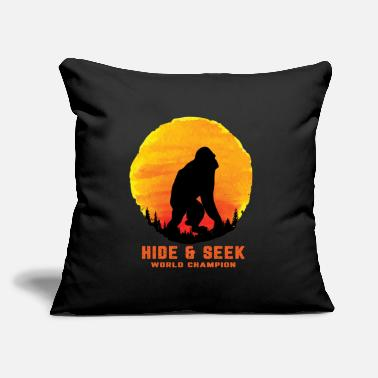 "World Champion Hide And Seek World Champion - Throw Pillow Cover 18"" x 18"""