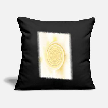 "Schwarz Light vortex - Throw Pillow Cover 18"" x 18"""
